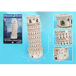Leaning Tower of Pisa 3D Puzzle - 13 pc