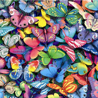 Butterflies - 500 piece