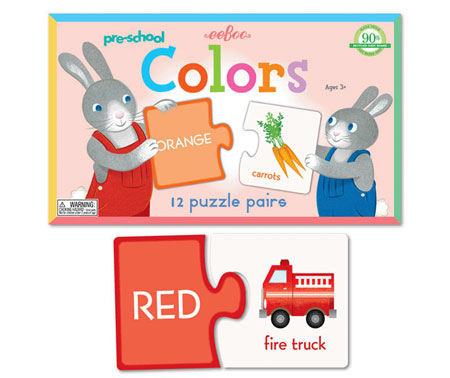 Color Puzzle Pairs