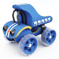 Hape Vehicle - E-Truck