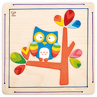 Hoot Owl Paint and Frame