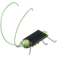 Frightened Grasshopper Solar Powered Bug