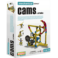 Engino Mechanical Series - Cams & Cranks