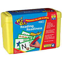 Hot Dots Phonics Flash Cards - Reading Readiness