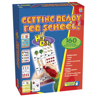 Hot Dots Jr. Getting Ready for School Set