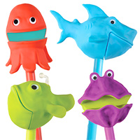 Puppet on a Stick The Sea Squad - Set of 4