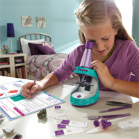 Nancy B's Science Club Microscope and Activity Journal
