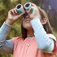 Nancy B's Science Club Binoculars and Wildlife Activity Journal