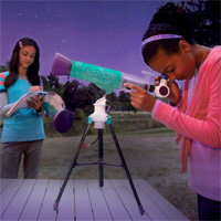 Nancy B's Science Club Moonscope and Sky Gazer's Activity Journal