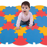 Edu Tiles Circle Mat - 27 pc