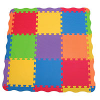 Edu Tiles Play Mat - 25 pc