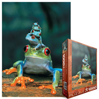 Red-Eyed Tree Frog 1000 piece puzzle
