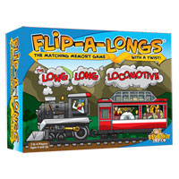 Flip-A-Longs - The Long Long Locomotive