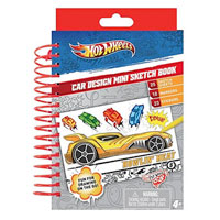 Hot Wheels Mini Sketch Book