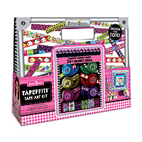 Tapefitti Tape Art Craft Tote