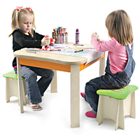 Art Table & Chair Set