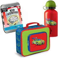 Racing Genius Lunchbox Combo Pack