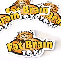 Fat Brain Toys Vinyl Sticker