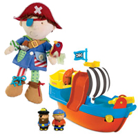 Pirate Pals Combo Pack