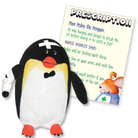 Get Well Friends - Pedro the Penguin