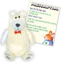Get Well Friends - Peri the Polar Bear