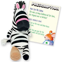 Get Well Friends - Zoe the Zebra