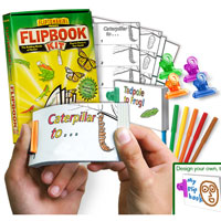 Animals D.I.Y. Flip Book Kit