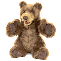 Two-Handed Bear Puppet