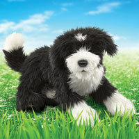 Portuguese Water Dog Puppet