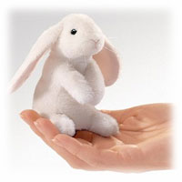 Mini Lop Ear Rabbit Puppet