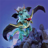 Sky Dragon Puppet