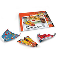 Airplane Food Flying Placemats