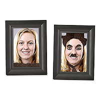 Fuzzy Face Magnetic Frame