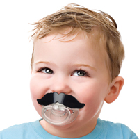 Chill Baby Mustache Pacifier