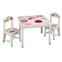 Sweetie Pie Table & Chairs Set