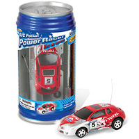 Super Pocket Racer RC in a Can