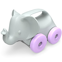 Elephant-on-Wheels Push Toy