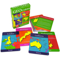 Geo-Cards World