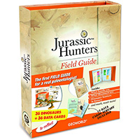Jurassic Hunters Field Guide and Cards