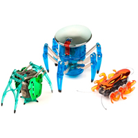 Hexbug Chrome Set - Spider, Inchworm, Ant