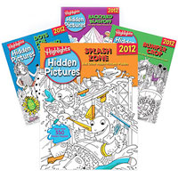 Highlights Hidden Pictures 2012 - 4 book set
