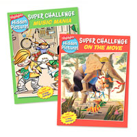Highlights Hidden Pictures Super Challenge - 2 Book Set