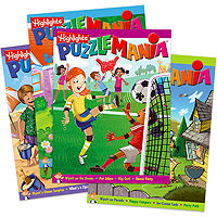 Highlights Puzzlemania - set of 4