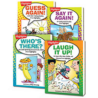 Jokes & Riddles 4-Book Set
