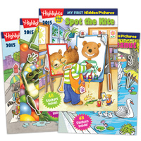 Highlights My First Hidden Pictures 2015 - 4 Book Set