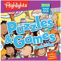 Highlights Trends 2015 Puzzles and Games Calendar