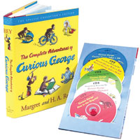 The Complete Adventures of Curious George Book & CD