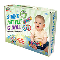Music Discovery Set - Shake, Rattle, & Roll