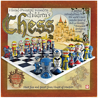 Children's Wooden Chess Set