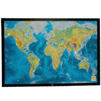 LED World Map